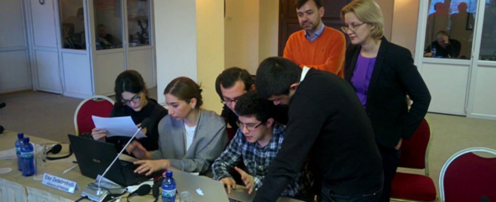 Фактчекинговый тренинг для политиков Грузии, Армении и Азербайджана