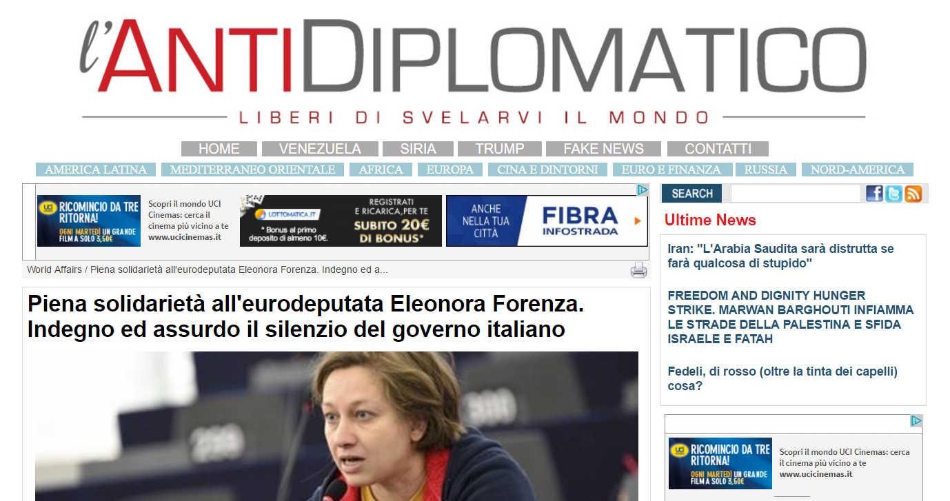 eleonora Forenza Fakenews