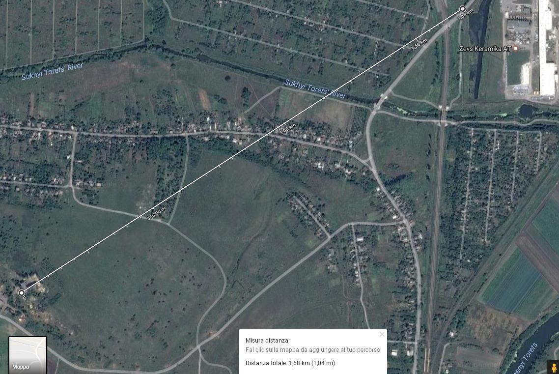 Distanza Kharachun Rocchelli