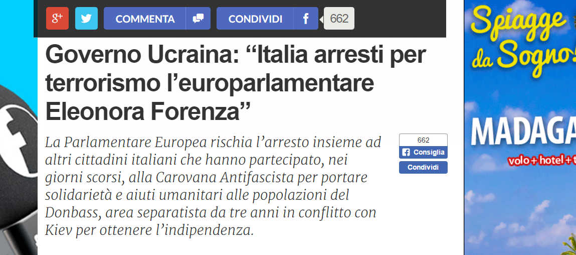 Arresto Eleonora Forenza