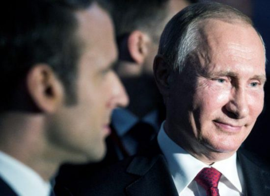Ukraine, Russia and propaganda: Macron sets his red lines at Versailles