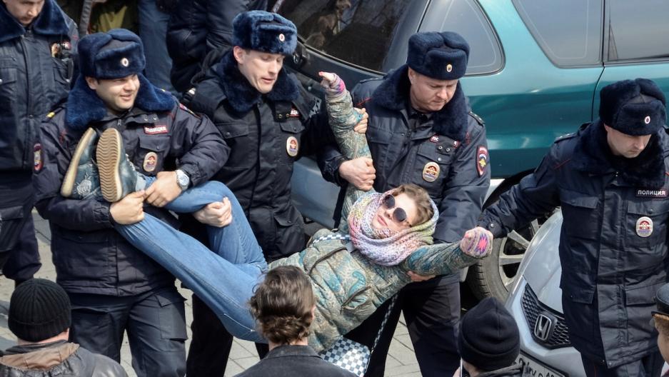 Proteste in Russia