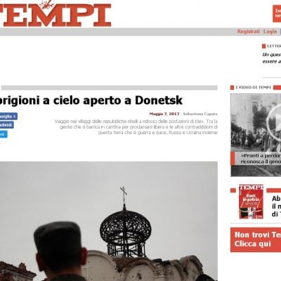 Fake : Le prigioni a cielo aperto a Donetsk