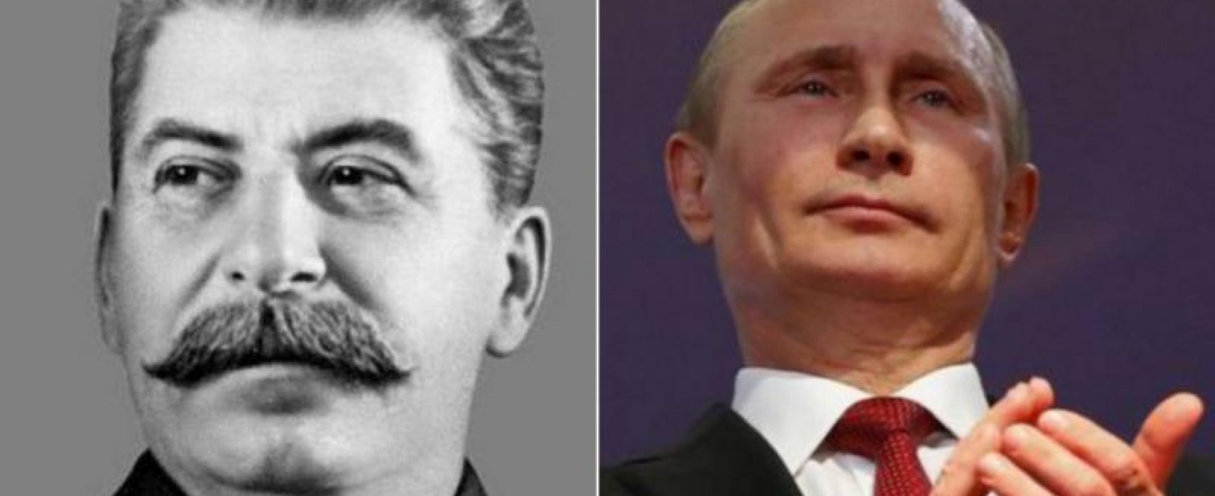 "Russians name Stalin and Putin ""the most outstanding figures"" of all times"