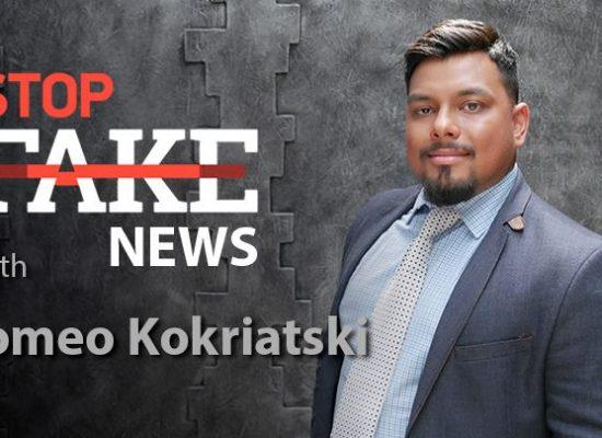StopFakeNews #136 with Romeo Kokriatski