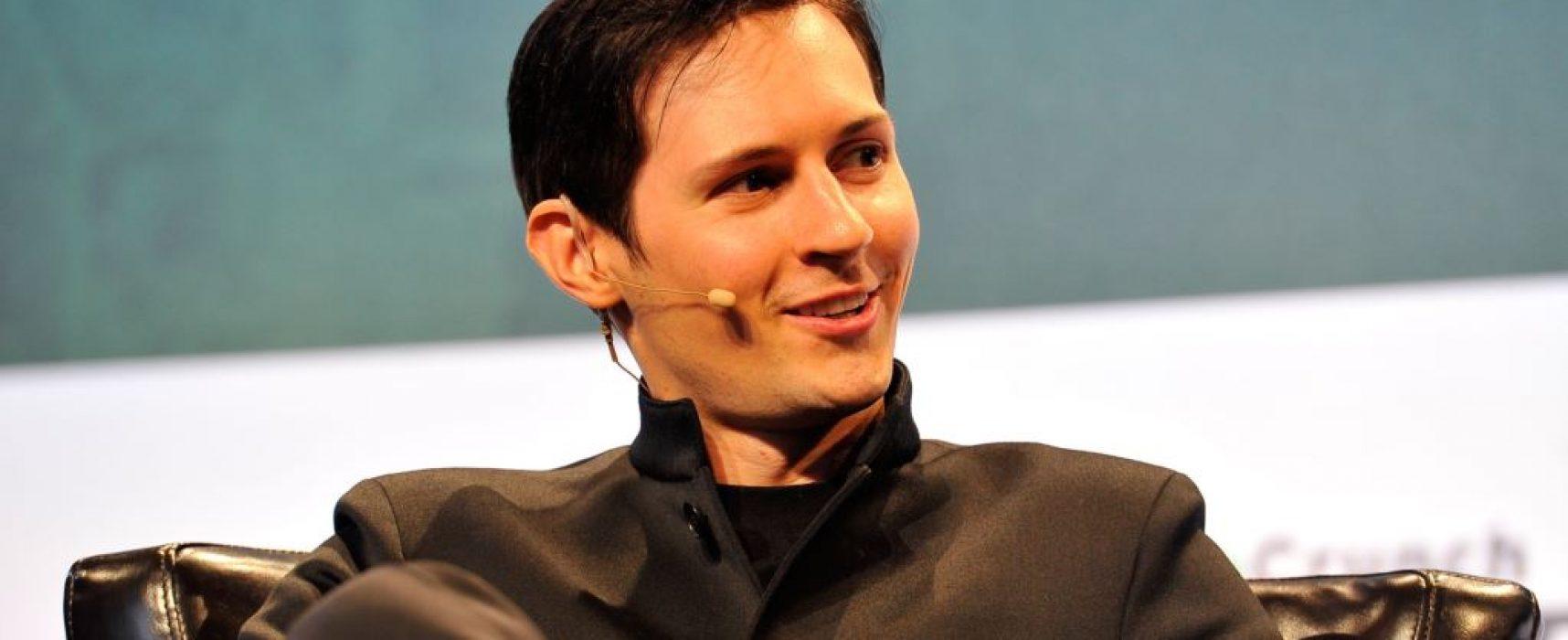 Дуров предоставил данные для регистрации Telegram в России