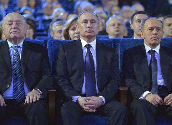 La inteligencia rusa lleva a cabo una guerra (política)