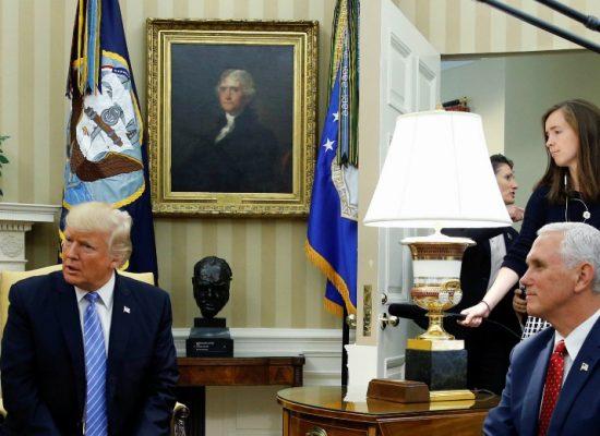 Kremlin orchestrates Russian media coverage of Trump-Poroshenko meeting