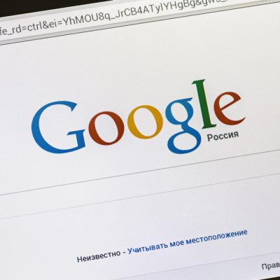 Russia briefly bans Google.ru