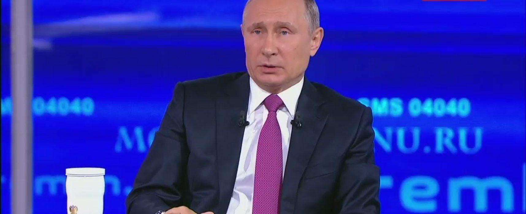 «Голубые мундиры» в Европе и Медведчук-«националист»: что сказал Путин на «Прямой линии» об Украине?