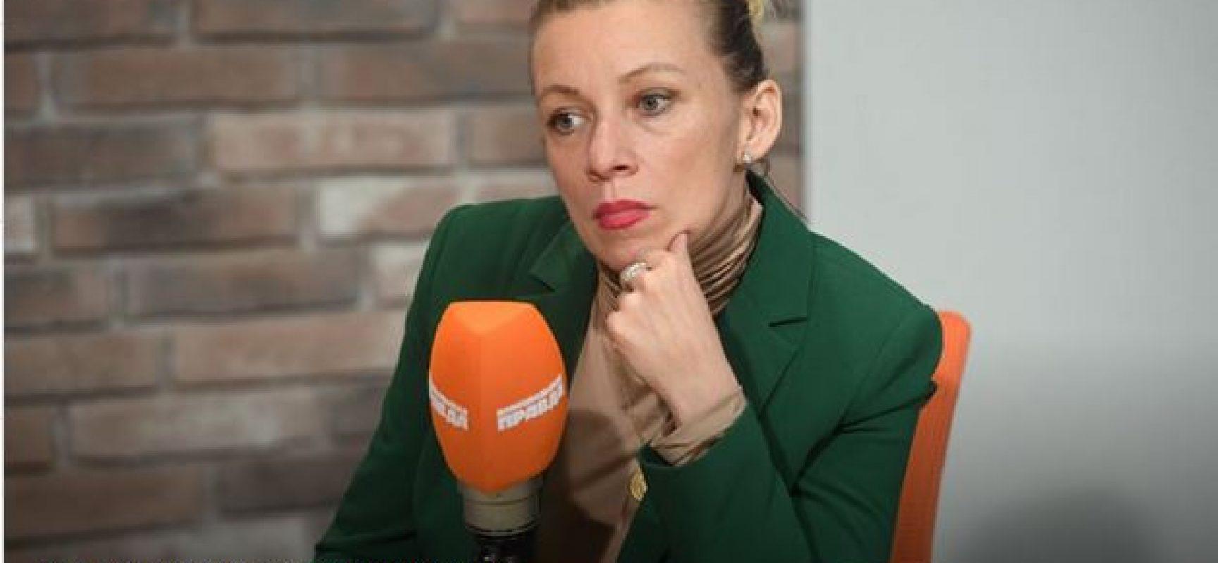 Pressesprecherin des russischen Außenministeriums: Krim-Annexion ist bestes Beispiel von Demokratie