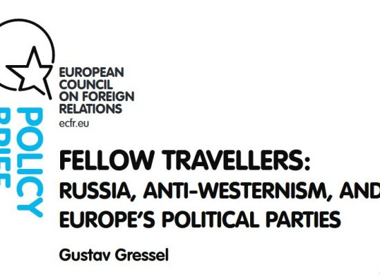 Fellow travellers: Russia, anti-Westernism, and Europe's political parties