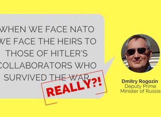 """La obsesión por los """"nazi"""" de los propagandistas pro-Kremlin"""