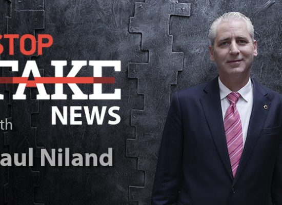 StopFakeNews #139 with Paul Niland