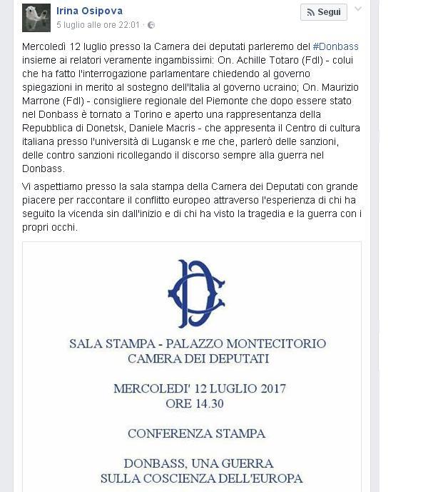 Conferenza Marrone