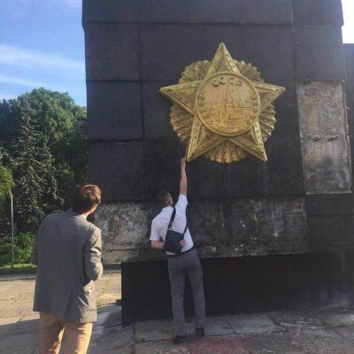 Fake: Lviv lässt sowjetisches Weltkriegs-Denkmal abreißen