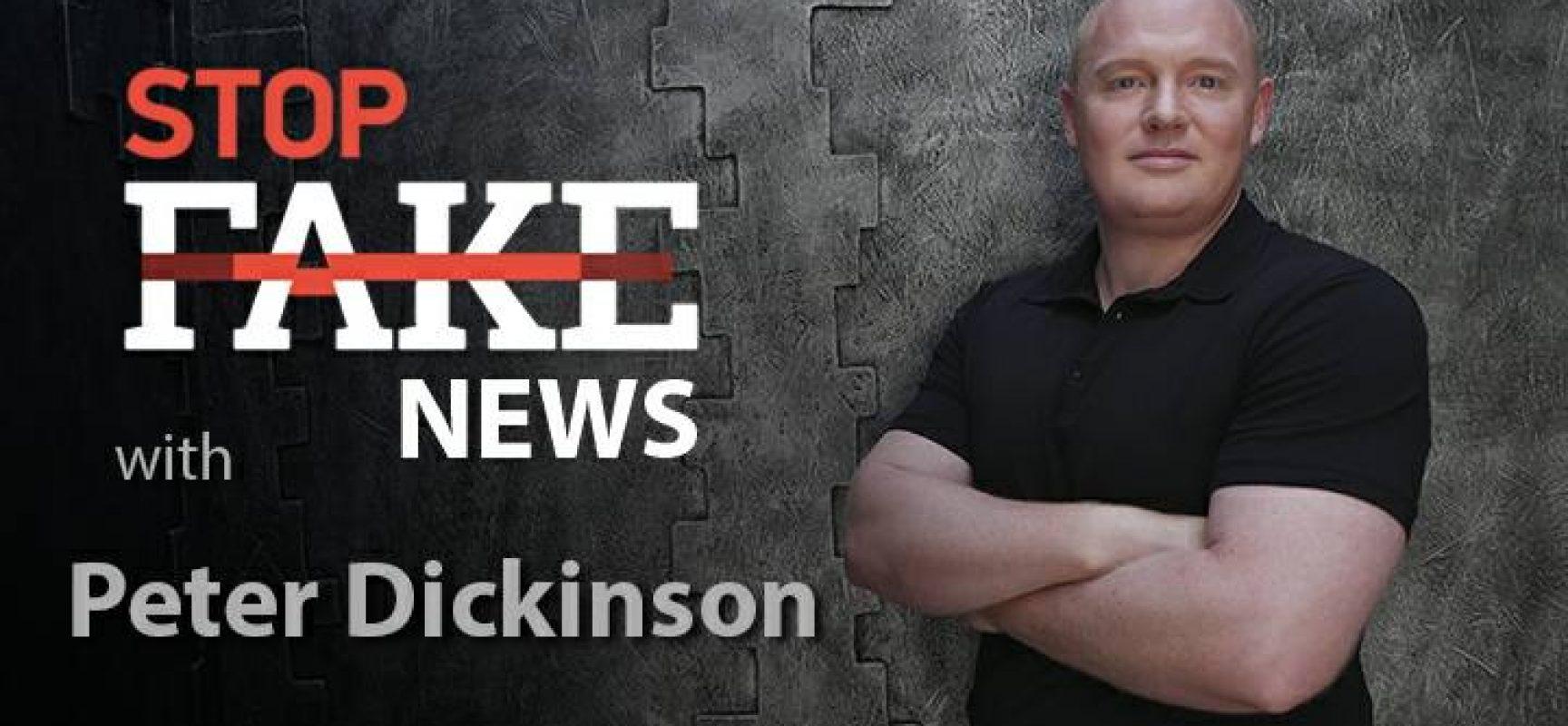 StopFakeNews #141 [ENG] con Peter Dickinson