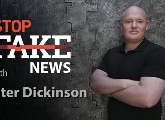StopFakeNews #141 with Peter Dickinson