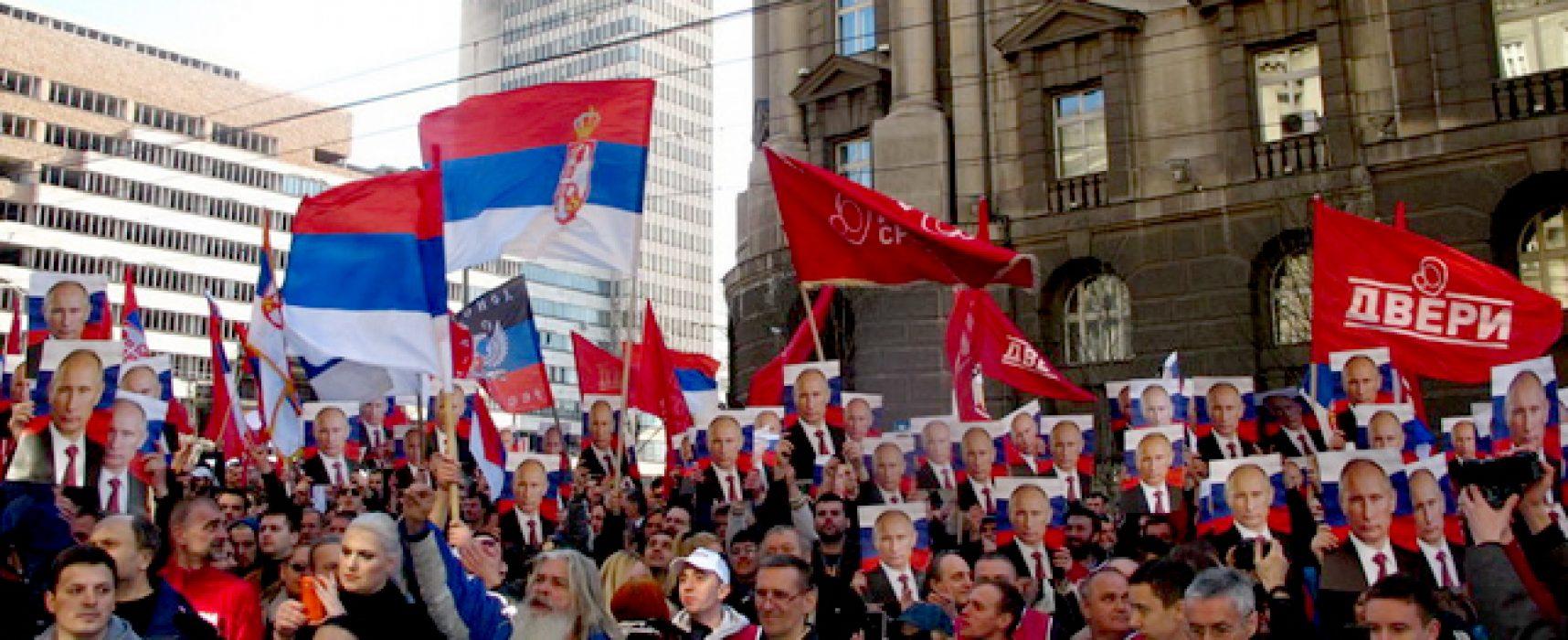 Агрессивная российская «soft power» в Европе