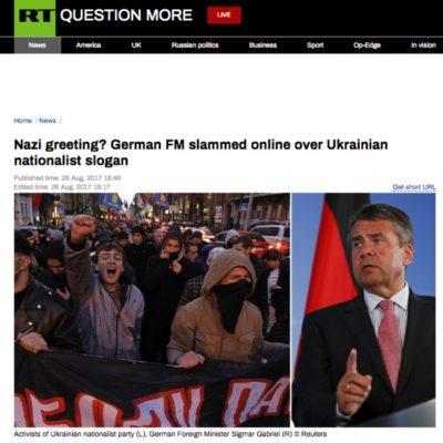 """Manipulace: """"Sláva Ukrajině"""" je pozdrav nacistických kolaborantů"""