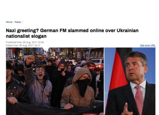 Фейк: «Слава Украине» — нацистское приветствие