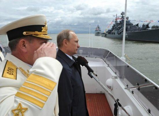 Игорь Яковенко: Ударим по санкциям военно-морским парадом!