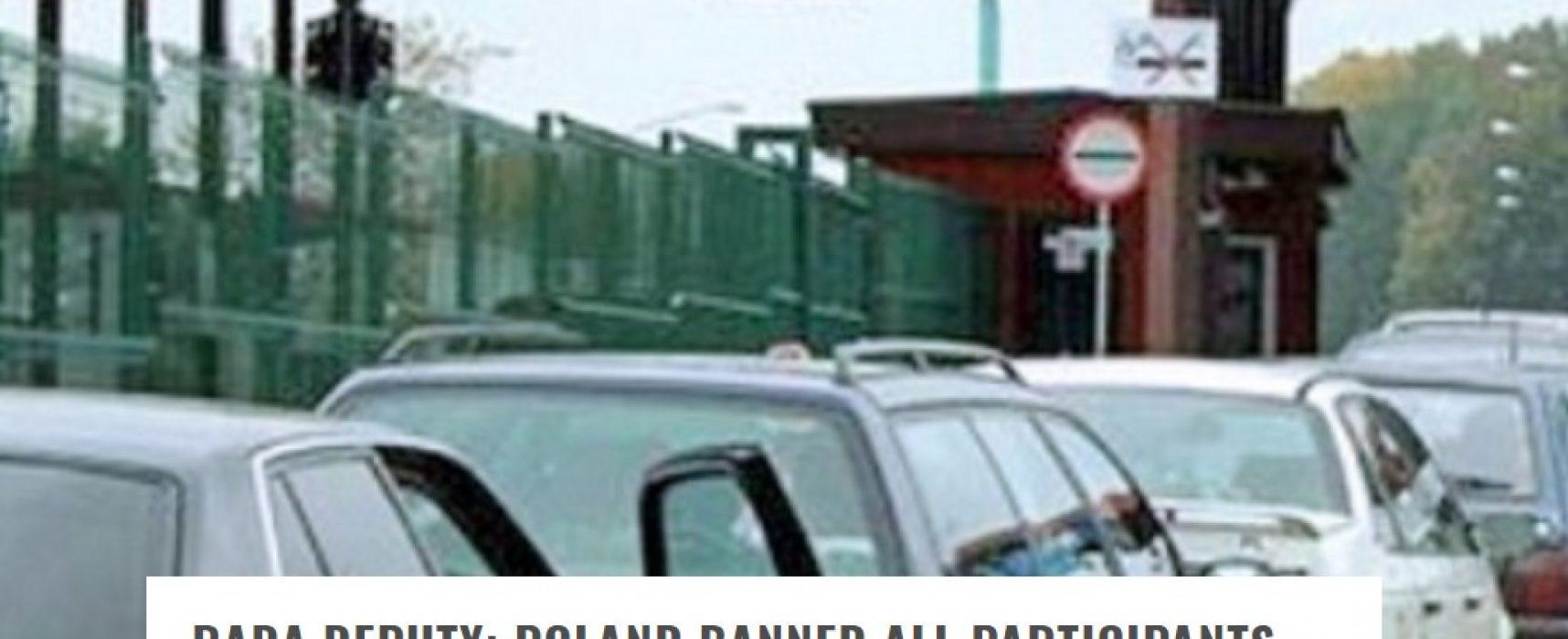 Powraca kłamstwo dotyczące rzekomego zakazu wjazdu do Polski dla Ukraińców, którzy brali udział w konflikcie w Donbasie