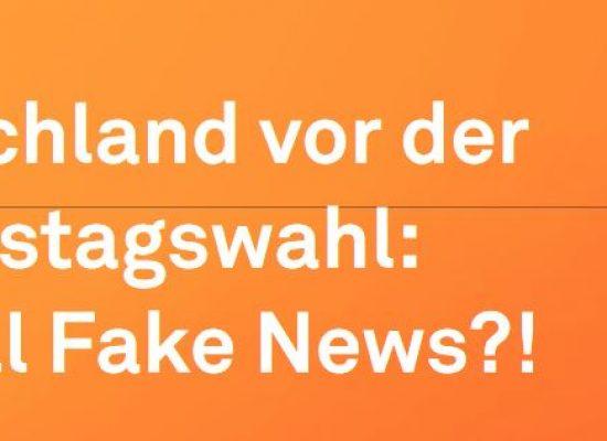 Neue Studie: Stiftung NV – Deutschland vor der Bundestagswahl: Überall Fake News?!