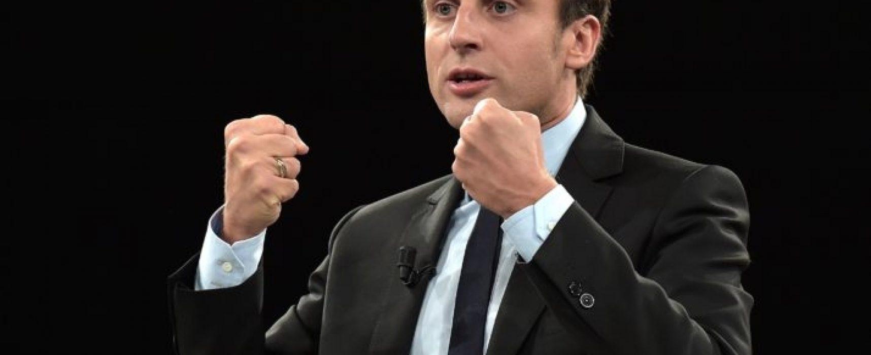 Falso: Macron ayudó a Kyiv llevar a cabo el Maidán