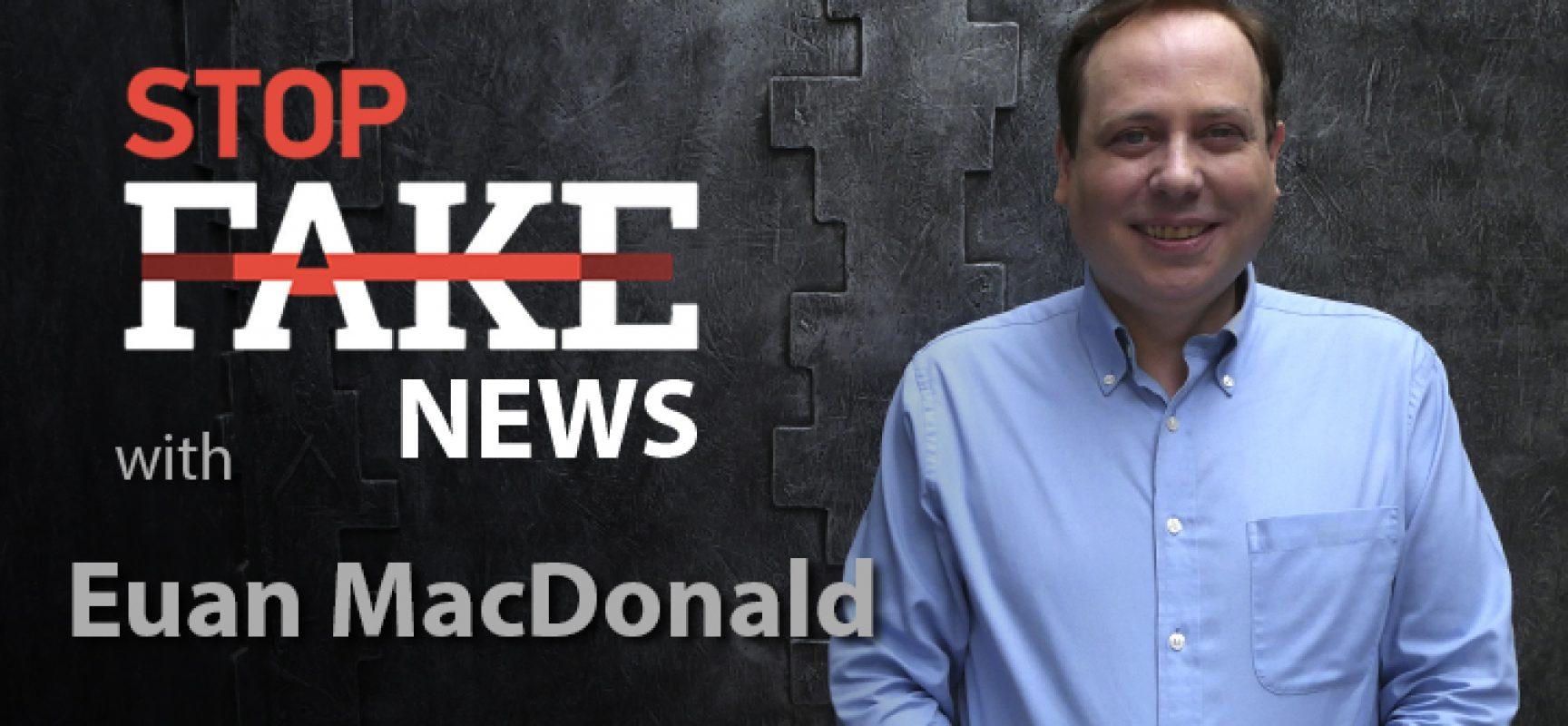 StopFakeNews #143 [ENG] con Euan MacDonald