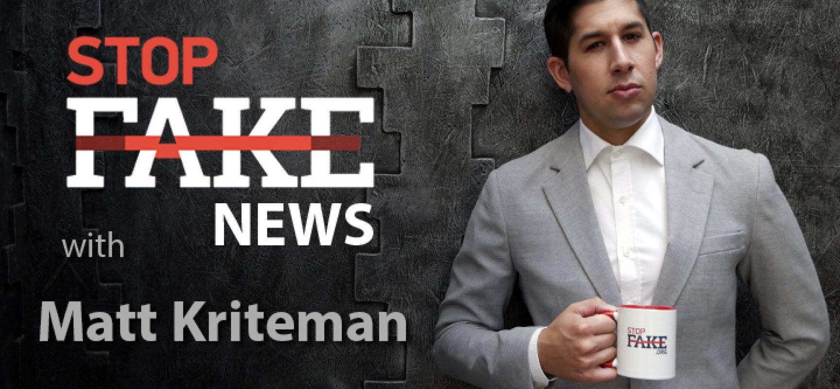 StopFake #146 [ENG] con Matt Kriteman