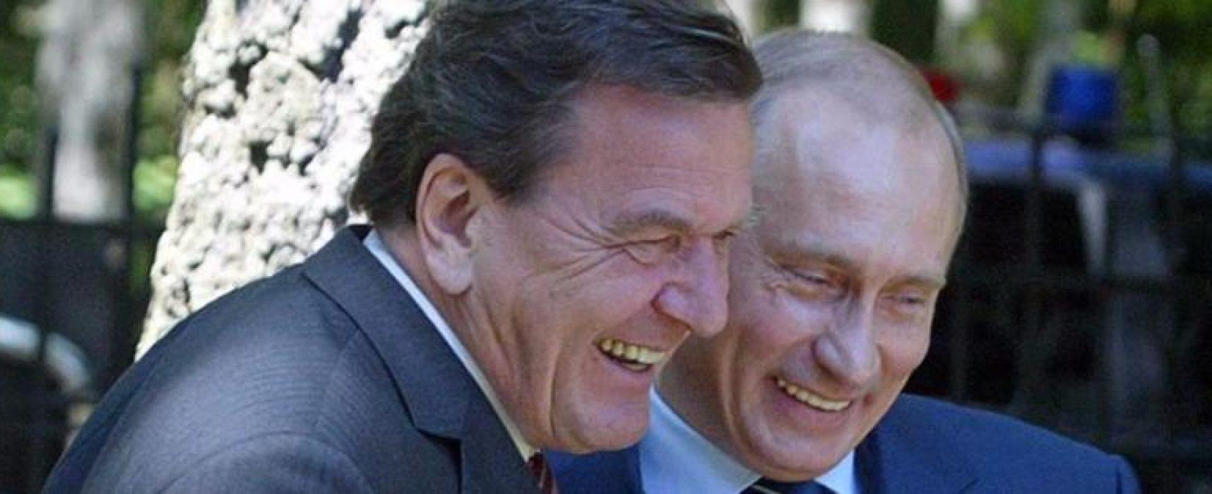 Schröder e quello strano amore dei tedeschi per la Russia di Putin