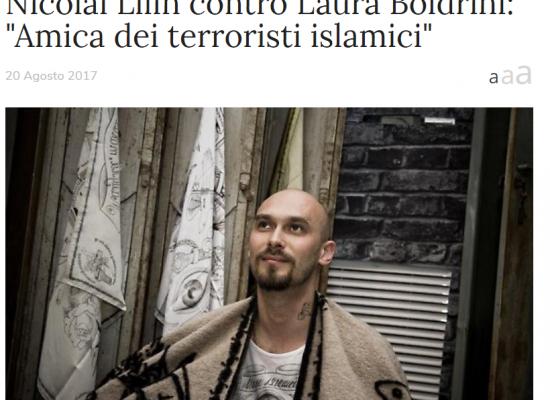 Lilin accusa la Boldrini di essere amica dei terroristi