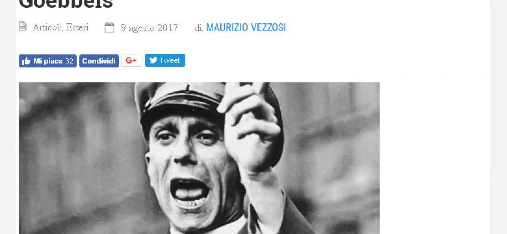 Fake : l'Ucraina secondo Maurizio Vezzosi collaboratore di Limes