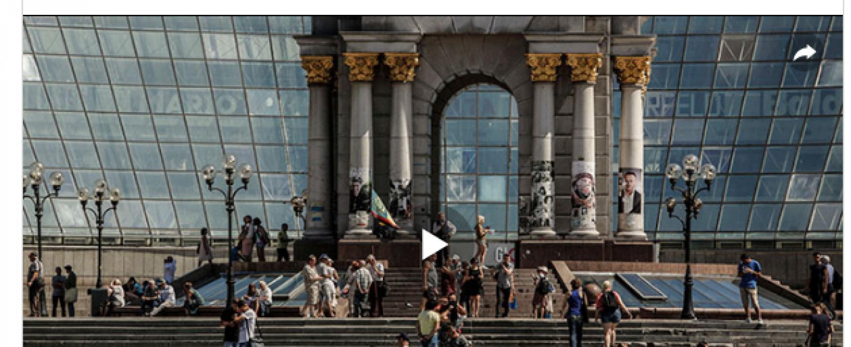Falso: Ucrania sufre un desempleo récord y el 45% de los ucranianos trabajan fuera del país