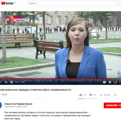 O čem ve svých reportážích mluvila ruská novinářka, jež byla vyhoštěna z Ukrajiny?