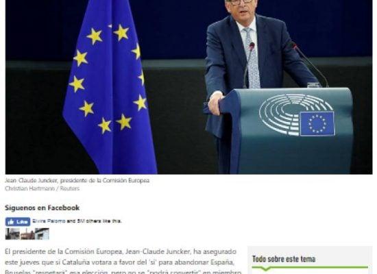 La maquinaria de injerencias rusa penetra la crisis catalana