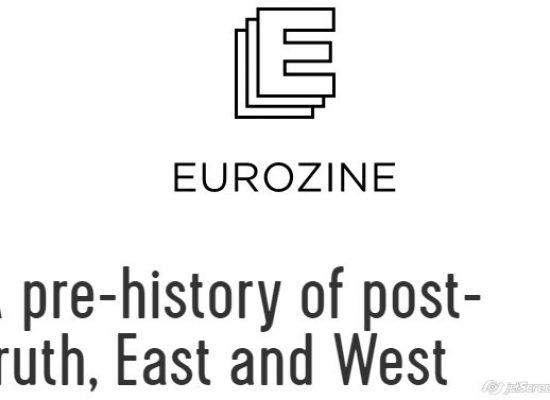 A pre-history of post-truth, East and West