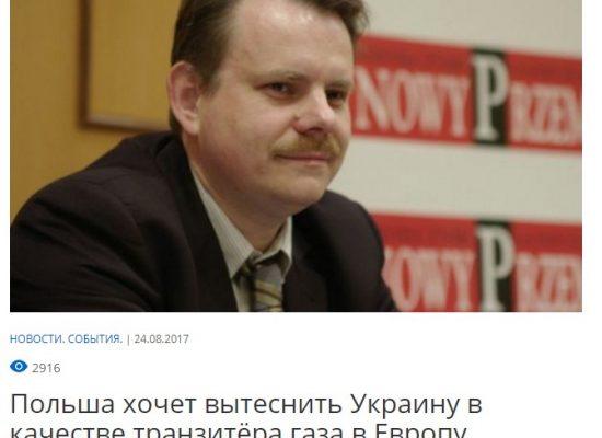Fake: Polen will der Ukraine Gas-Transiteinnahmen rauben