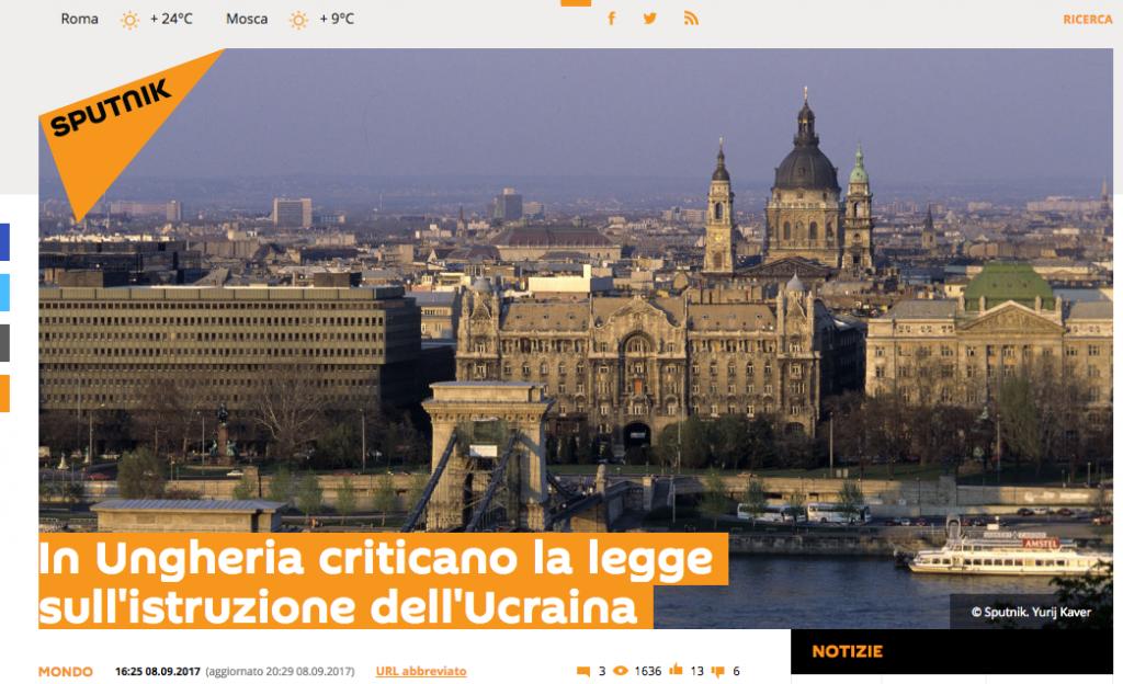 Sputnik Italia Fake