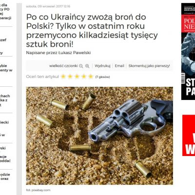 Fake: Ukrainian Arms Flood into Poland