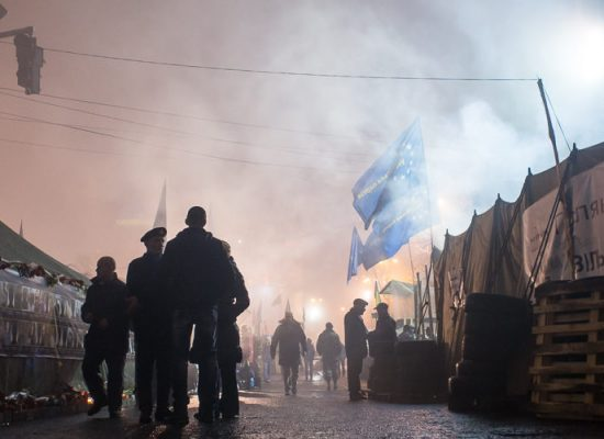 """Radikální pravice a banderovci na Ukrajině? """"Pravicoví radikálové jsou tu slabší než v Evropě,"""" říká německý politolog"""
