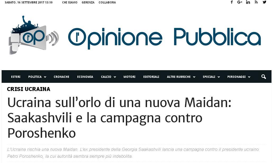 Fake Opinione Pubblica