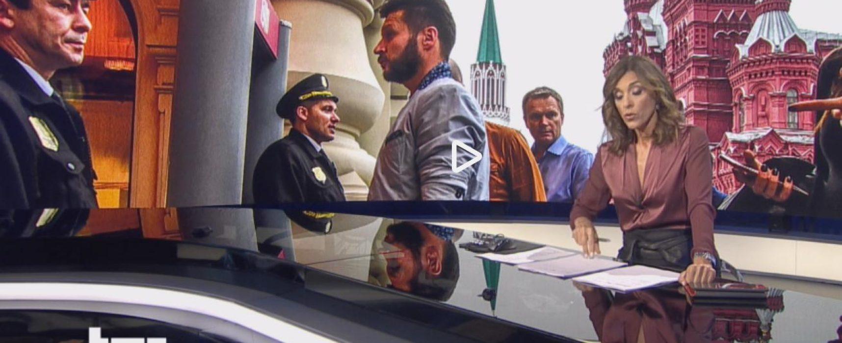 Rai 1 : Allarme terrorismo in Russia provocato dall'Ucraina