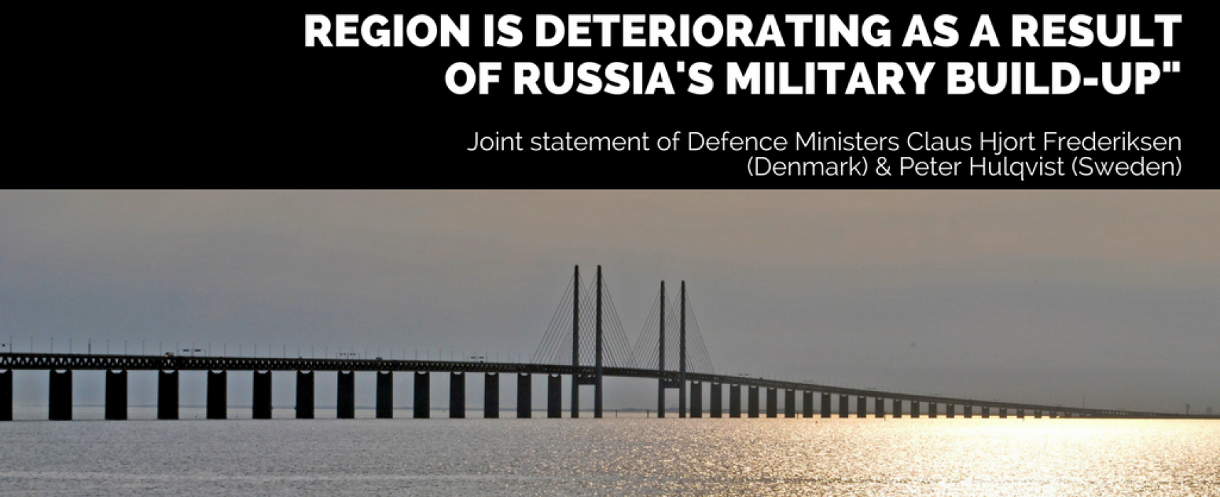 "Denmark and Sweden: ""Russian fake news is a danger to our countries"""