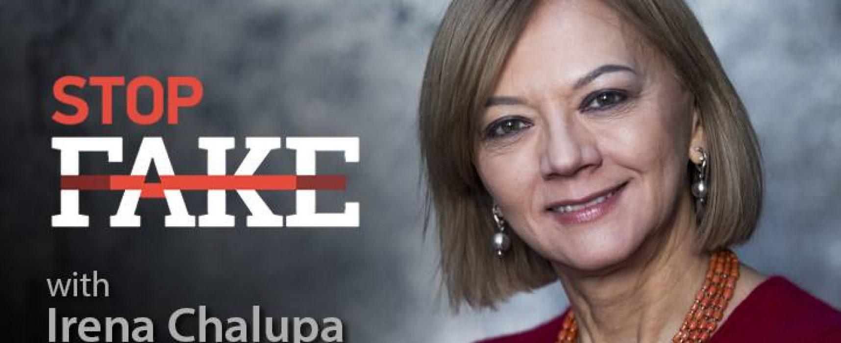 StopFake #152 [ENG] mit Irena Chalupa
