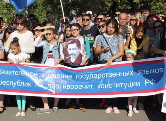 Олег Панфилов: «Всем говорить по-русски…»
