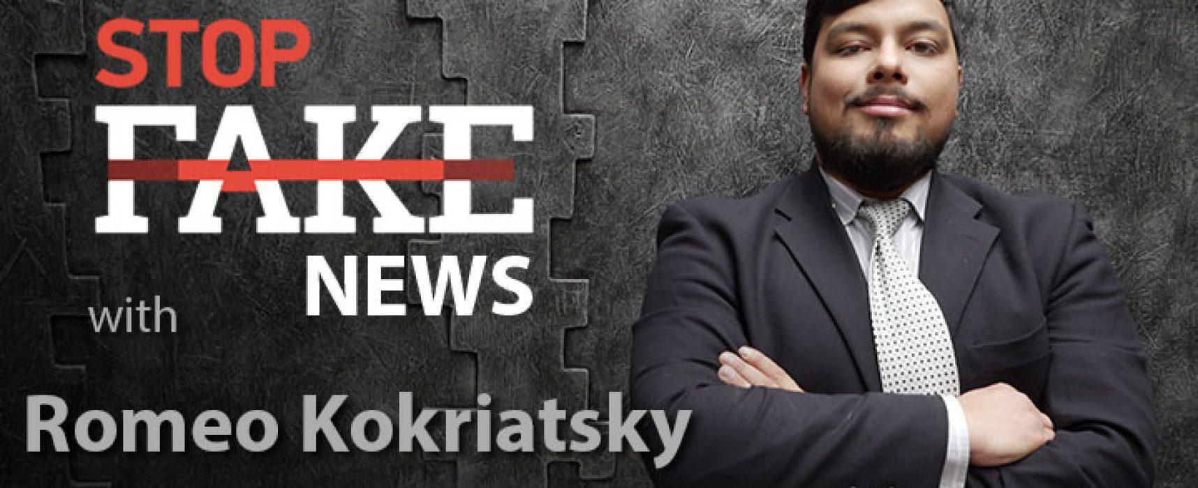 StopFake #151 [ENG] mit Romeo Kokriatsky