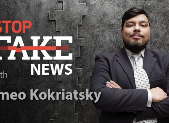 StopFake #151 with Romeo Kokriatsky