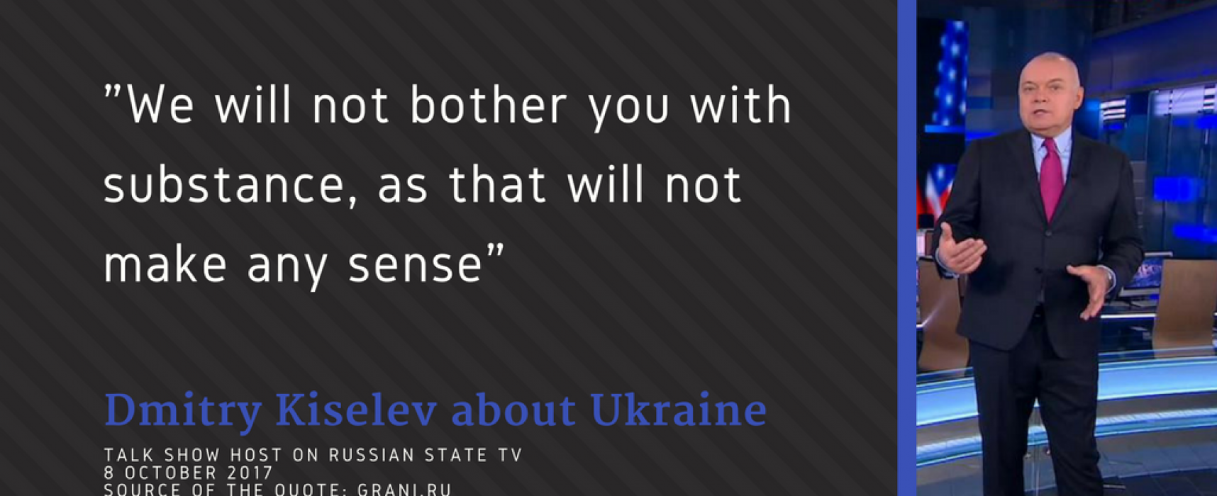 "Russian TV: Council of Europe a ""gay park"" and warnings of a ""big war"" in Ukraine"